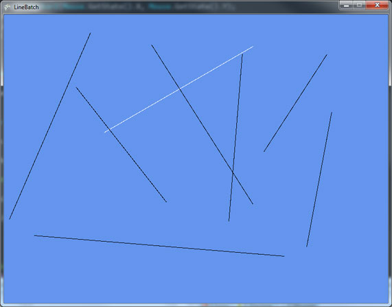Drawing Lines In Xna : Drawing lines in xna david amador
