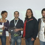 Another picture with the event organizers