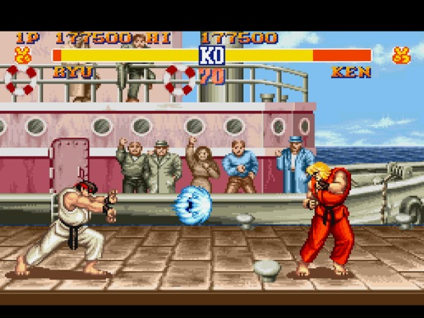 Sure was a sweet game, probably one of the best fight games I ever