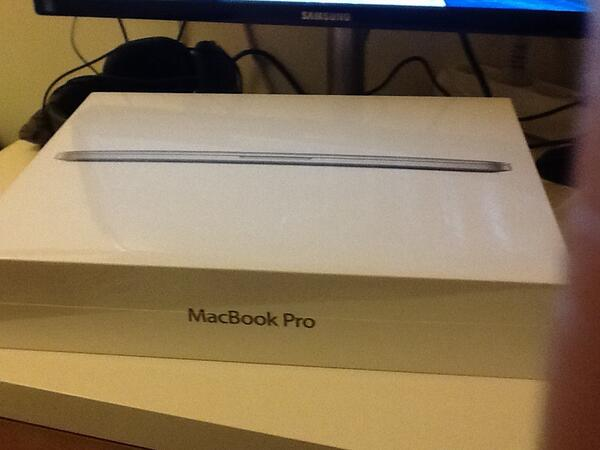 First Macbook Pro